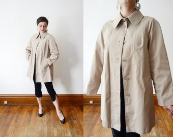 1970s Tan Aline Jacket - M