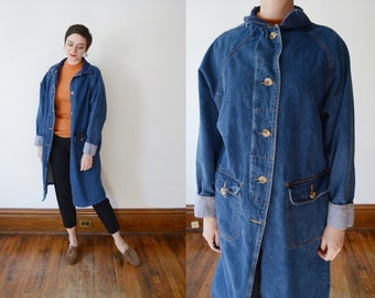 1990s Denim Chore Jacket - S/M