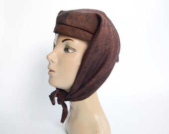 1950s Silk Fabric Hat