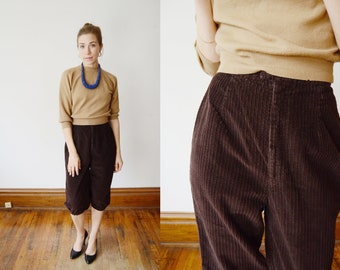 1970s Corduroy Bloomer Pants - S