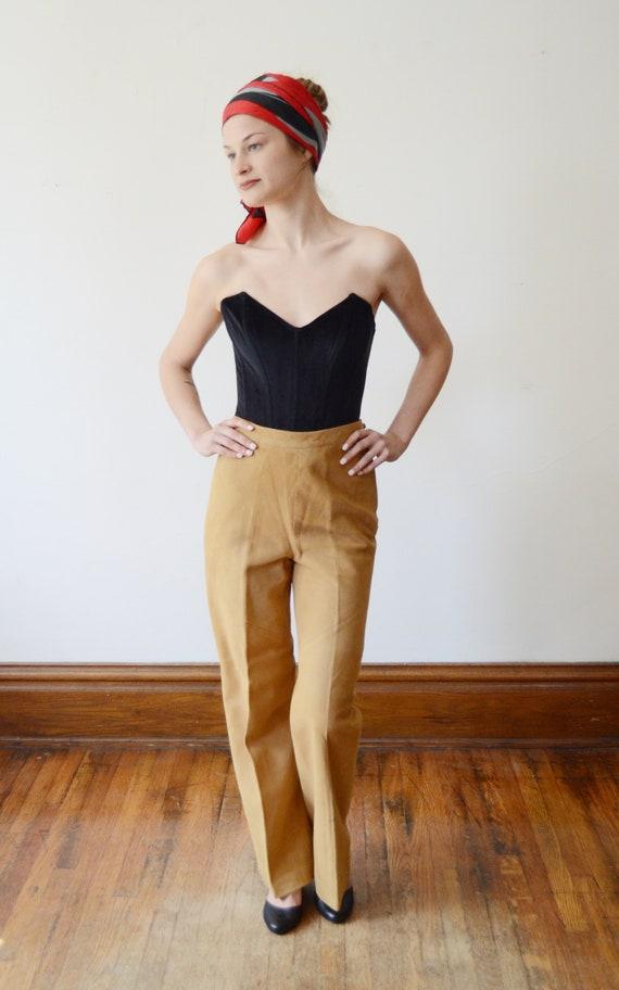 Bonnie Cashin Sills 1970s Leather Pants - XS - image 8