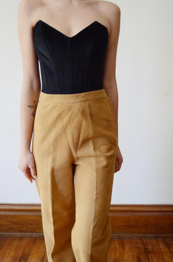 Bonnie Cashin Sills 1970s Leather Pants - XS - image 5