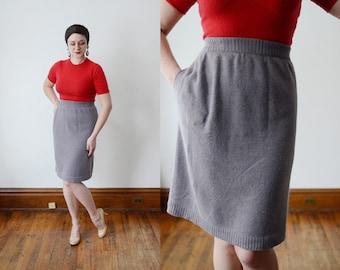 Angelo Tarlazzi Angora Knit Skirt - S/M