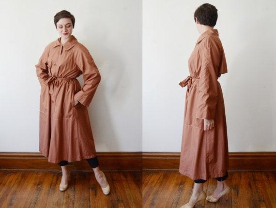 1980s Bonnie Cashin Nylon Trench Coat - M/L