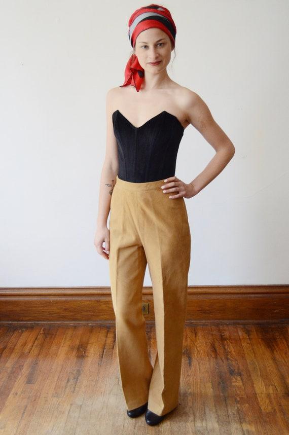 Bonnie Cashin Sills 1970s Leather Pants - XS - image 3