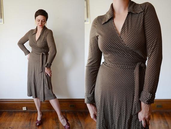 1970s Diane Von Furstenberg Wrap Dress - S