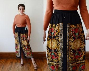 90s Carole Little Skirt - L