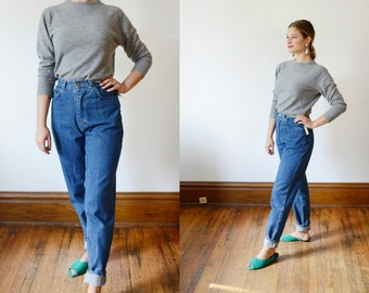 1980s Deadstock High Waisted Jeans - XS