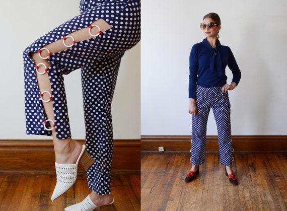 1960s Polka Dot Pants - S
