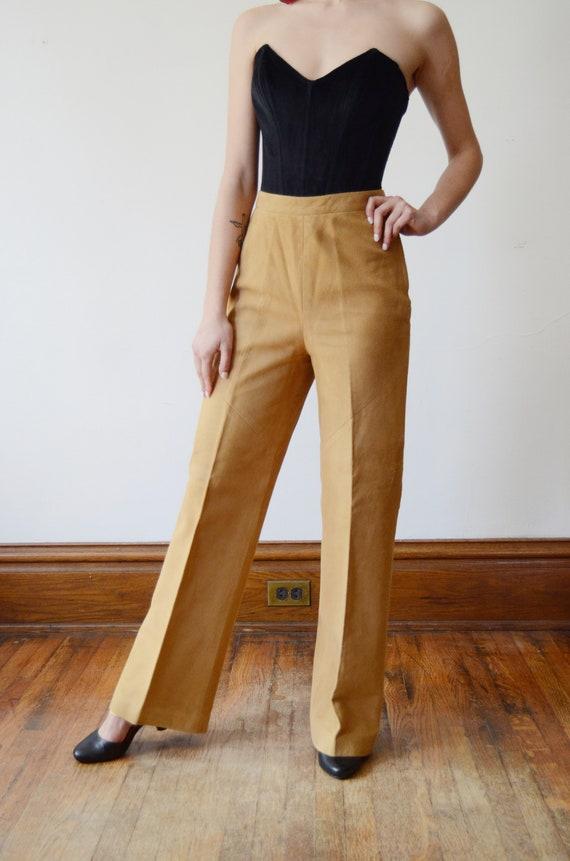 Bonnie Cashin Sills 1970s Leather Pants - XS - image 2