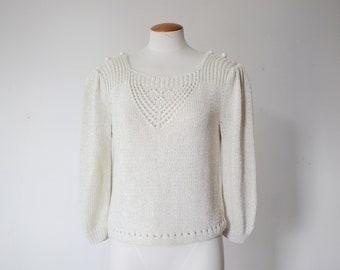 Weathervane 80s Boxy Sweater - M/L