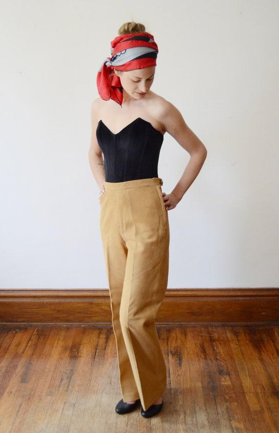 Bonnie Cashin Sills 1970s Leather Pants - XS - image 4