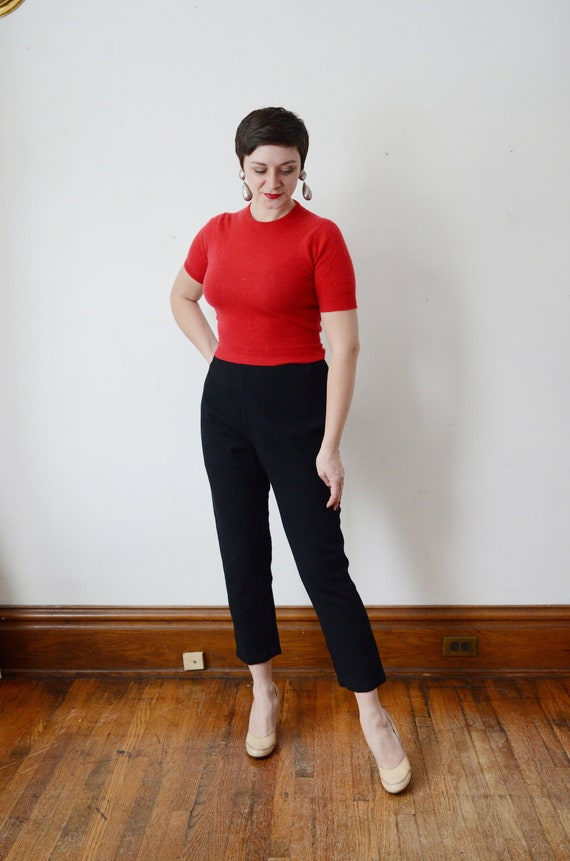 1950s Red Cashmere Sweater - XS/S