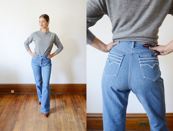 AS IS Early 80s High Waist Jeans - S