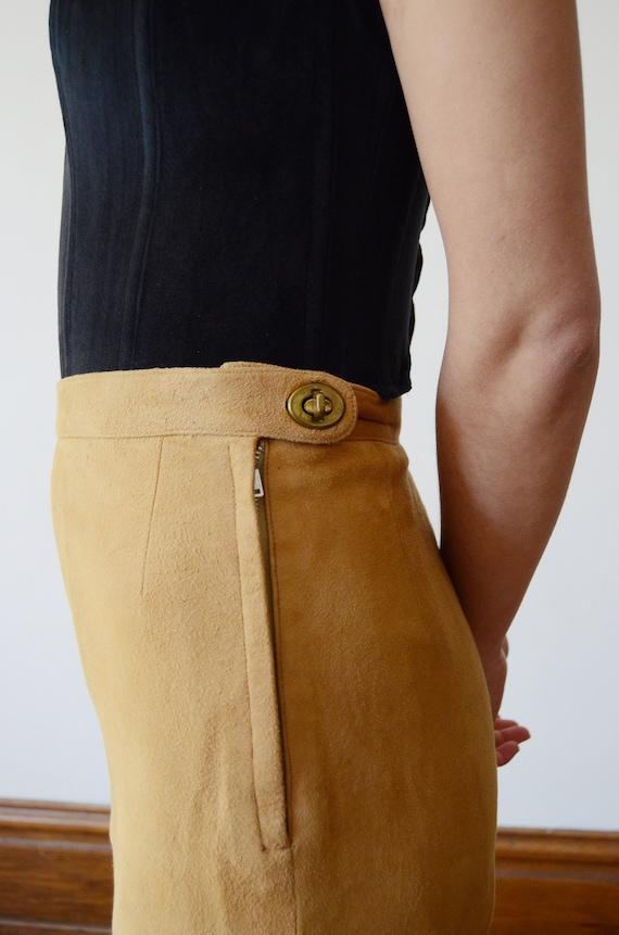 Bonnie Cashin Sills 1970s Leather Pants - XS - image 6