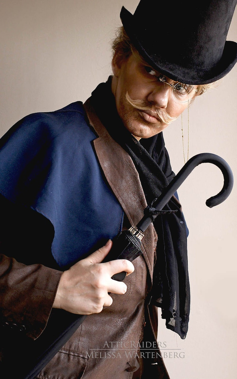 Steampunk Costume Monocle Birthday Gift for Boyfriend from image 0
