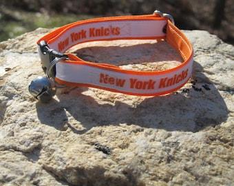 New York Knicks Cat  or Small Dog Collar