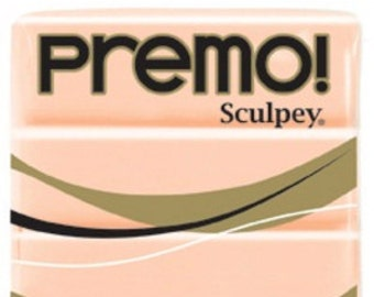 Beige Premo! Sculpey Oven-Bake Polymer Clay, 2 oz, Polymer Clay