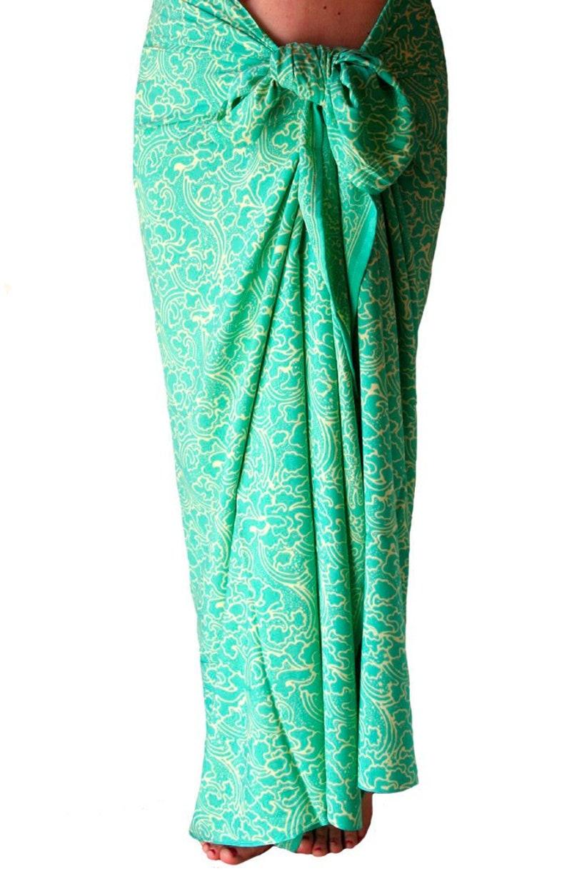 8081d11d22 Batik Sarong Women's Clothing Beach Sarong Wrap Skirt | Etsy