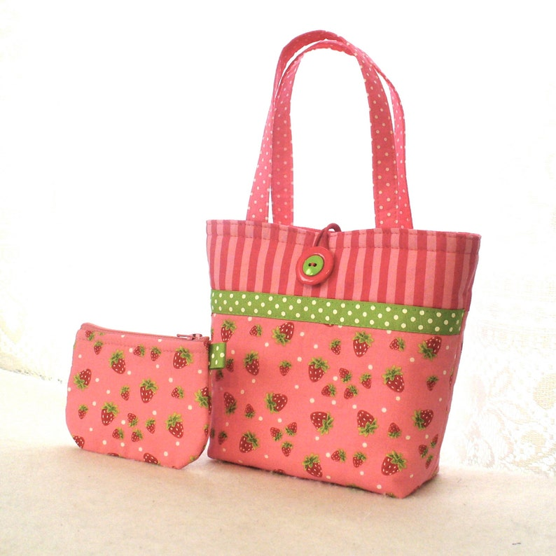 Strawberry Festival Kids Purse Little Girls