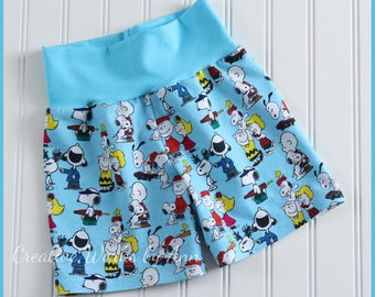 26a8408e6f Peanut S-noopy Friends Shorts by Creative Works by Ann