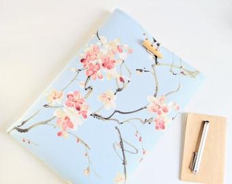 "iPad Sleeve, iPad Pro 11"", 12.9"", iPad Air 4 Cover Case, Mini 5 Sleeve, Custom Fit, Padded Tablet Case - Cherry Blossom Hanami"