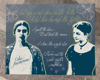 DICKINSON - Emily & Sue 11 x 14 Fine Art Print