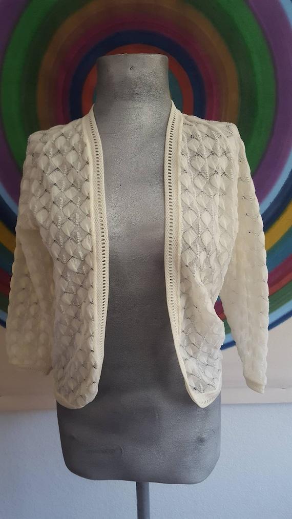 Vintage lace sweater 40's
