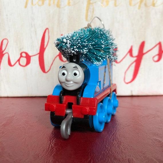 Thomas The Train Christmas Tree.Thomas The Train Carrying Christmas Tree Ornament