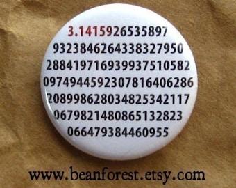 it's pi - math teacher - pinback button badge
