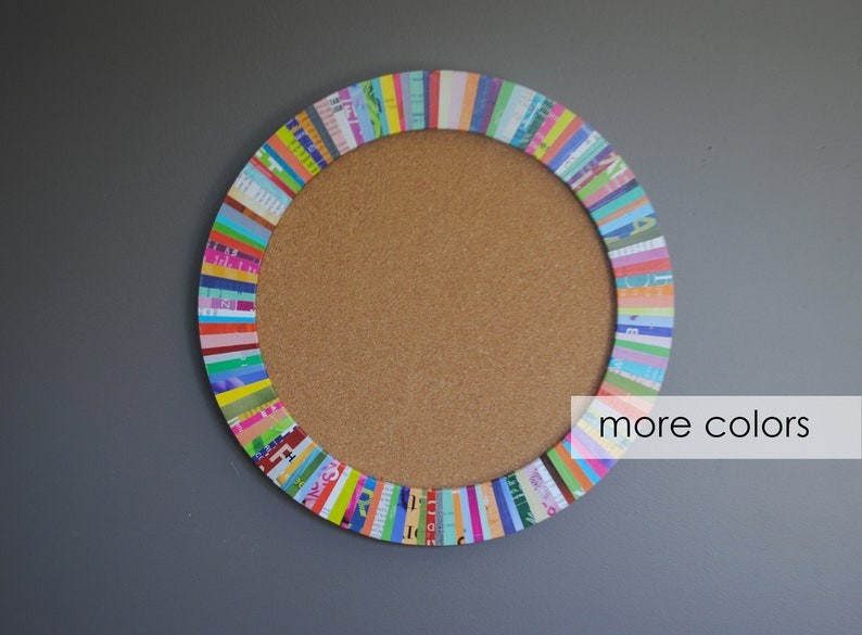 small 12 cork board-made from recycled image 0