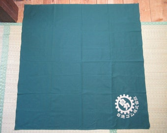 ViNTAGE CoTTON FuROSHiKI with Shop Name - JaPaNeSe WRaPPiNG CLoTH - FREE SHiPPING!!!!
