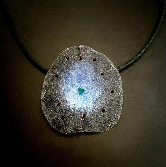 Fine Silver EnamelArt pendant