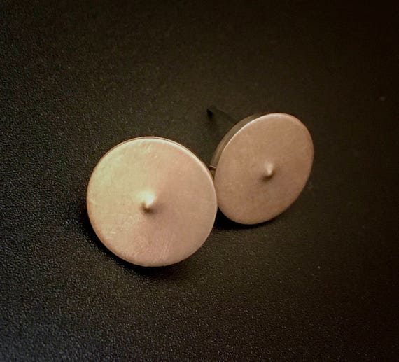 Bronze Stud Earrings