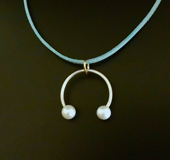 Sterling Silver & Pearl Pendant