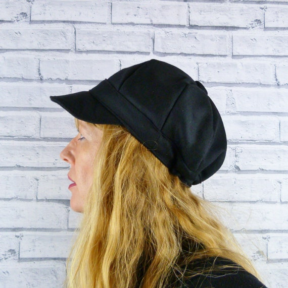 Linea Uomo Donna Ragazze Violinista Cappello Donna Baker boy cappello Cappello Da Strillone Cappello Cappello di Bretton
