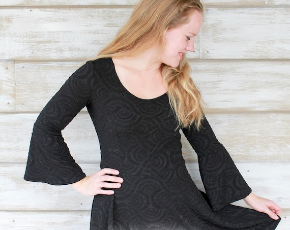 Little Black Dress, Bell Sleeve Dresses, Womens Dresses, Holiday Party Dress, Cocktail Dress, Black Dresses, Dresses Women, Made in Canada