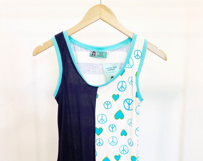 XS Peace and Love Tank Top