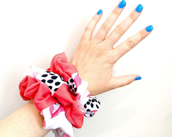 Dragon Fruit Scrunchie