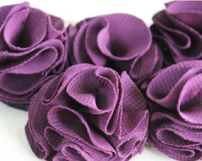 Eggplant Purple Bib Necklace