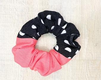 Polka Dot Scrunchie - Coral, Mint, Yellow