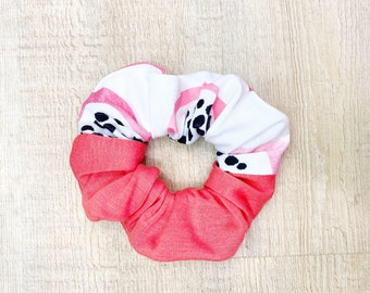 Pink/Mint Dragon Fruit Scrunchie