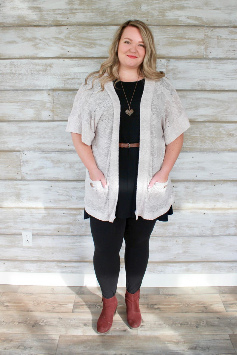 Plus Size Sweaters Women Oversized Cardigan Long Cardigan image 0