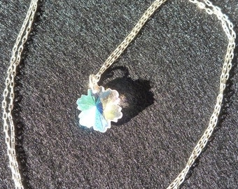 Small Snowflake Necklace