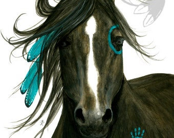 Majestic Bay Horse - Prints by AmyLyn Bihrle mm163