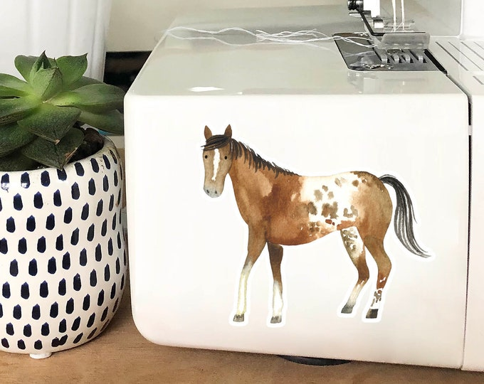 Vinyl Sticker - Brown Horse