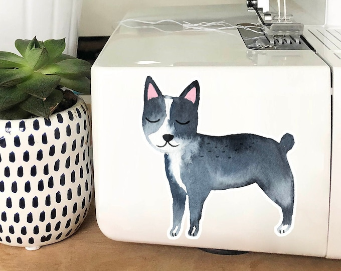 Vinyl Sticker - Boston Terrier