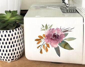 Vinyl Sticker - Mauve Bouquet