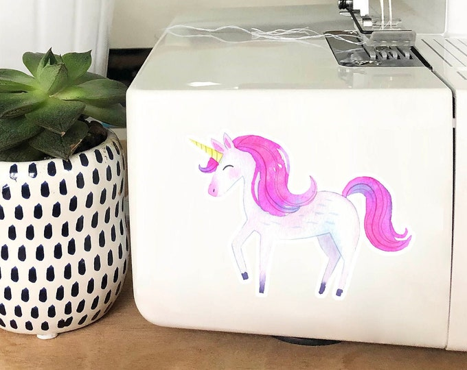 Vinyl Sticker - Pink Unicorn