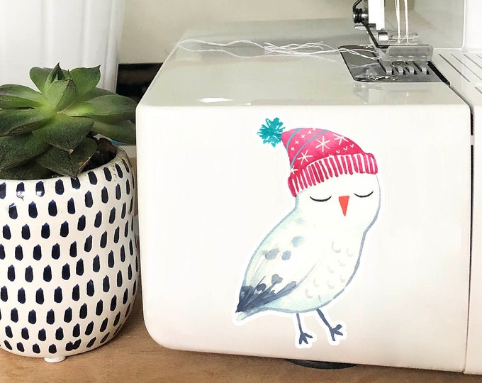 Vinyl Sticker - Winter Owl